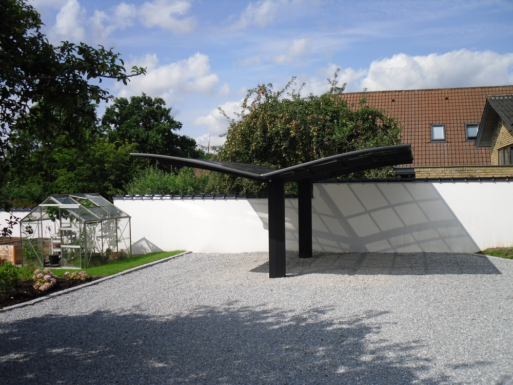 Aluminium Double Carport