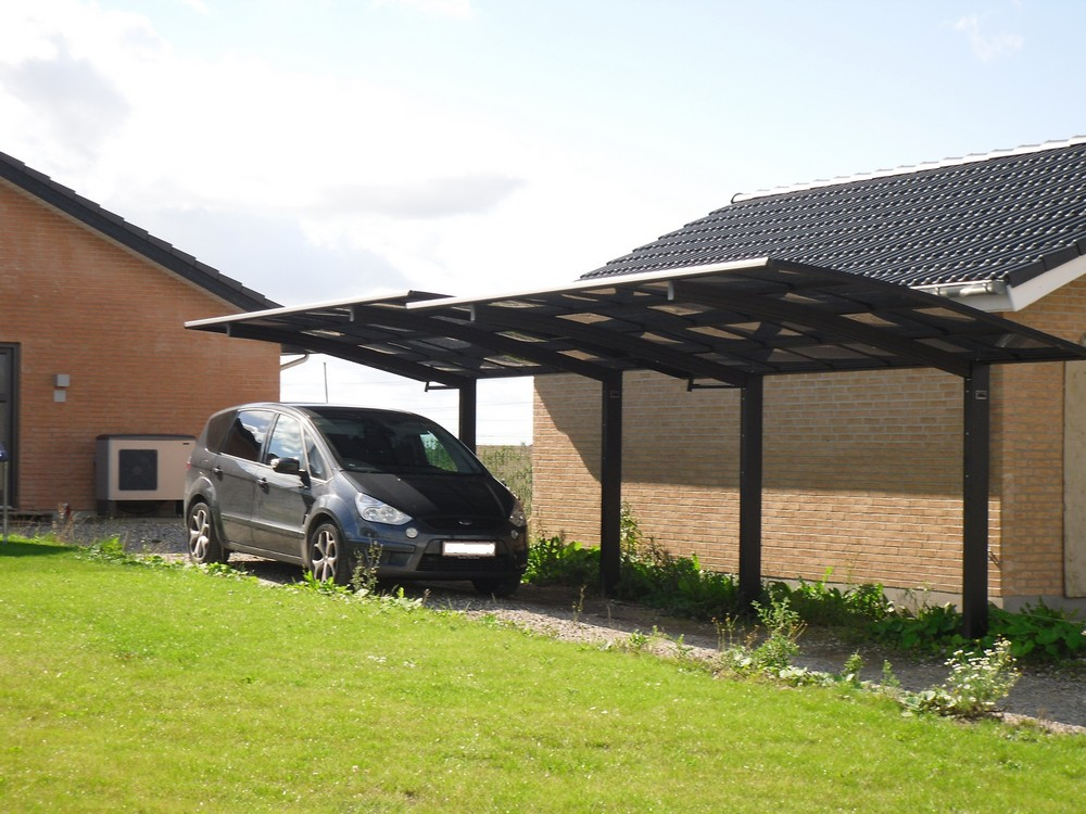 Aluminium Long Carport