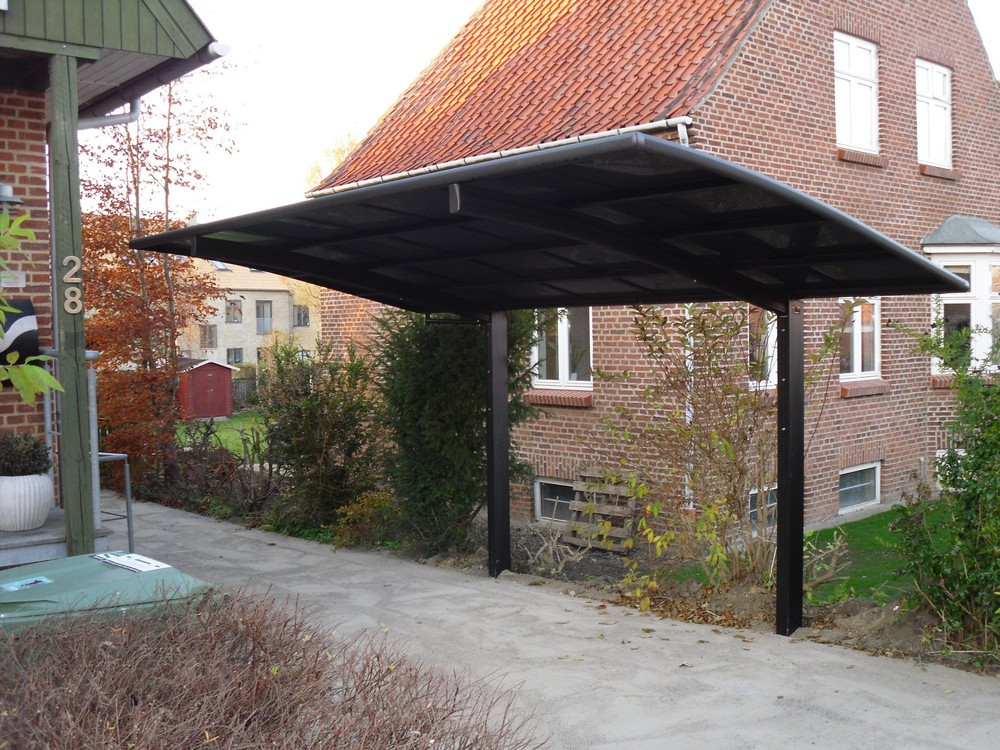 Aluminium Single Carport